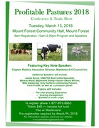 Profitable Pastures 2018