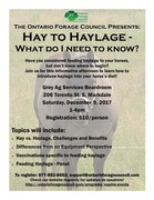 Hay to Haylage - What Do I Need to Know?