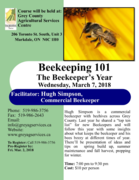 Beekeeping 101 The Beekeeper's Year - 2 SSP CEUs available