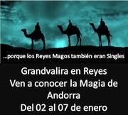 REYES EN GRANDVALIRA ANDORRA DESDE 455 € DEL 2 AL 7 DE ENERO