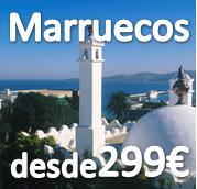 MARRUECOS DESDE 299€ (PUENTE DE TODOS LOS SANTOS) ESPECIAL SINGLES JOVENES