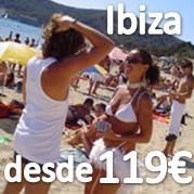 IBIZA PARTY 3 NOCHES EN HOTEL 3* EN MEDIA PENSION DESDE 119€