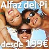 Cuarto Encuentro Single en Alfás del Pi (Alicante) 4 Dias 3 Noches con pensión completa, actividades, excursiones y fiesta con Barra Libre desde 199€