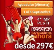 Vacaciones en Primera Linea de Playa Hotel 4*, 6 dias 5 noches desde 297€ en Media Pensión, 354€ en Pensión completa y 396€ en Todo Incluido