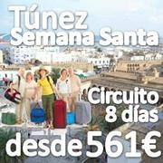 Semana Santa 2012, TUNEZ, Circuito + Estancia en Playa desde 608€ con Vuelos y 7 noches de Hotel 4* (3 noches en PC + 4 noches en reg de Todo Incluido