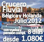 Crucero Fluvial Belgica y Holanda (incluye vuelos, traslados, pensión completa y 6 visitas!!)
