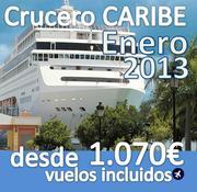 Crucero :: Caribe :: 8 dias :: Vuelos incluidos desde 1.070€ :: Enero 2013 :: Varias fechas