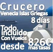 Crucero Venecia, Islas Griegas Julio