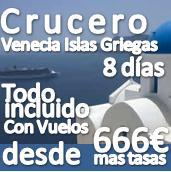 Crucero Venecia, Islas Griegas Septiembre