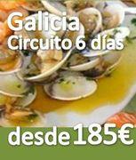 Circuito ::Galicia 6 días :: Pensión Completa :: desde 185€