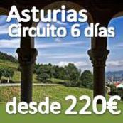 Circuito :: Asturias 6 dias :: desde 220€ :: Pensión Completa :: Octubre 2013