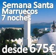 Singles a Marruecos Semana Santa 2014