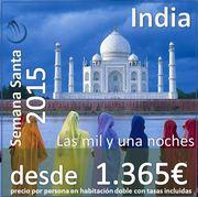 Viaje a India :: Semana Santa 2015 :: 9 días 7 noches desde 1.365€
