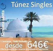 Túnez Singles :: Semana Santa 2015 :: 1 Semana en Regimen Todo Incluido ::  Hotel 4*, Traslados y Vuelos desde 593€