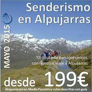 Senderismo en Alpujarras :: Mayo 2015 ::  3 días 2 noches :: Con Bus y Hotel 4* en Media Pensión :: desde 199€
