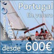 Verano 2015 :: Singles en Veleros a Portugal :: 7 días desde 600€