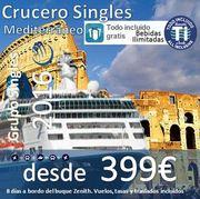 """Crucero """"Low Cost"""" desde Alicante Noviembre 2016 Con Regimen TODO INCLUIDO desde 399€ + tasas"""