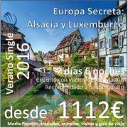 Europa Secreta: Alsacia y Luxemburgo