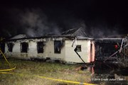 Melbourne Fire Department respond to abandoned house fire