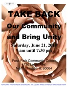 Take Back Our Community & Bring Unity