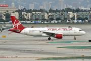 Virgin American N635VA A320 LAX