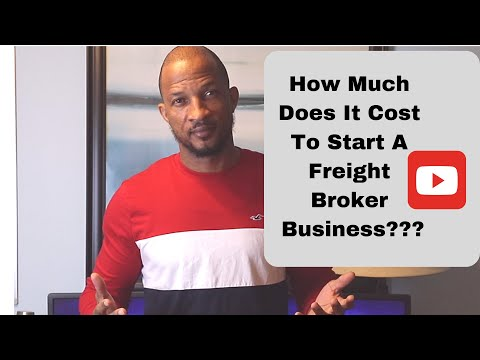 How Much Does It Cost To Start A Freight Broker Business?