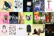 Print Isn't Dead & Art to Benefit Hurricane Sandy Relief Effort: Art with a Heart