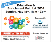 Free Education & Enrichment Resource Fair at UCLA