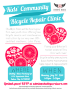Chubby's Kids' Community Bicycle Repair Clinic