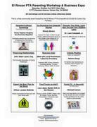 El Rincon Parenting Workshop & Business Expo