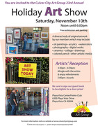 Culver City Art Group 23rd Annual Holiday Art Show