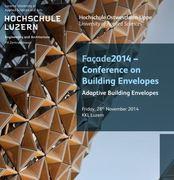 facade2014 - Adaptive Building Envelopes