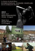 Summer International Butoh Seminars South Normandy, France with Moeno Wakamatsu & Masaki Iwana
