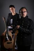 Federica Gennai+Filippo Cosentino presentazione Come hell or high water @Roccella Jazz Festival