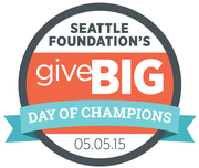 GIVE BIG MAY 5th Seattle Foundation