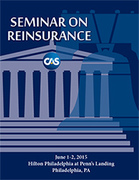 CAS Seminar on Reinsurance