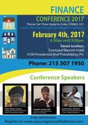 Finance Conference 2017 Hosted by Credit Analyst Lekiesha Allen