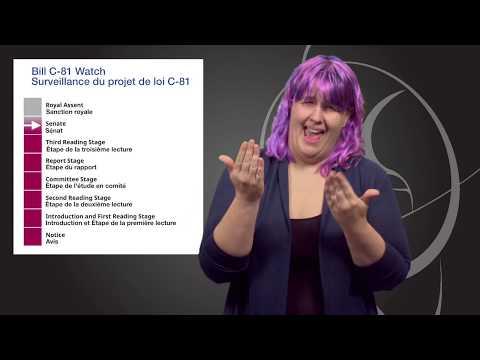 Vlog 1: Surveillance du projet de loi C-81 (LSQ)