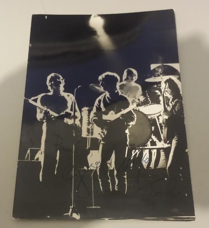 George Harrison's Parents Front Card