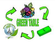 """Green Table"" at First Presbyterian Church of Elizabethton"