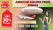 Book your flight at American Airlines phone Number +1 888 388 8628