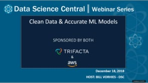 DSC Webinar Series: Clean Data & Accurate ML Models