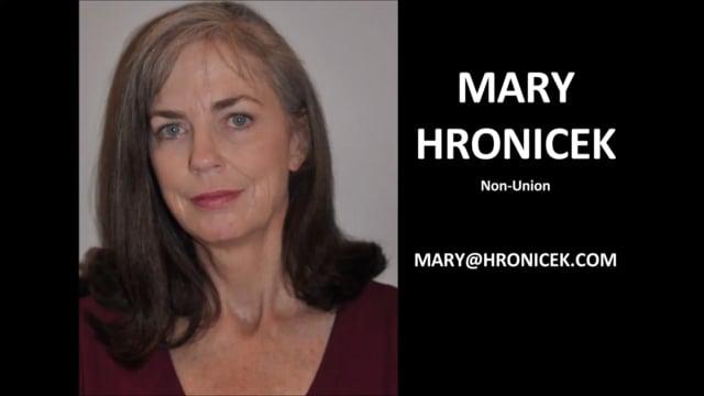 Mary Hronicek-Dramatic Reel, 120518, 1.27