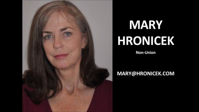 Mary Hronicek-Dramatic Reel, 120518, 1.27