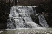 Joe Pack Mill Falls in high water