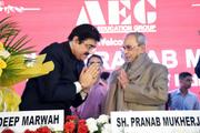 AAFT Congratulated Pranab Mukherjee on Receiving Bharat Rattan