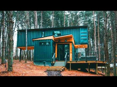 Beautiful Incredibly Stunning The Box Hop Made From Three 40'x8' Shipping Containers