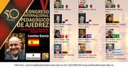 Ponentes Participantes en el Quinto Congreso Internacional de Ajedrez Educativo