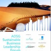 Abu Dhabi Sustainable Business Leadership Forum