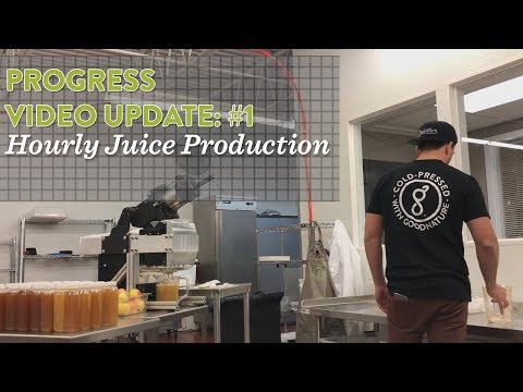 64 bottles of juice in ONE HOUR on the X-1 Mini prototype